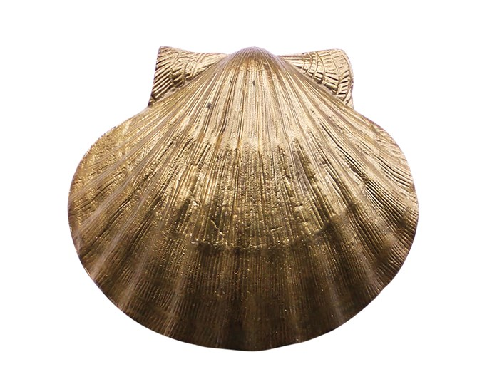"""**Knock, knock!** Create a beachy vibe with this creation by designer Sibella Court. Her scallop-shaped 'Pilgrim' brass-plated door knocker, $75, beats a buzzer any day. Drop by [The Society Inc.](https://thesocietyinc.com.au/