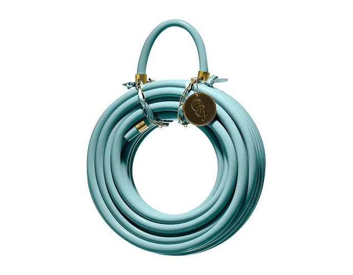 """**Water works** Even hardworking elements need a designer update. The 'Garden Glory' 20m garden hose is $170. Head to [Top3](http://top3.com.au/