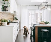 A modern kitchen with a heritage feel