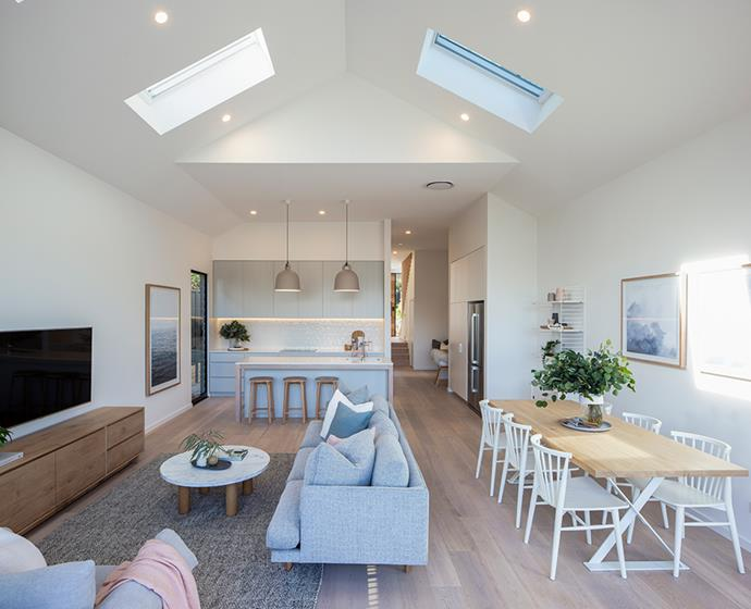 """Knowing the cladding products are made of fibre cement was a big factor too, """"It meant we wouldn't have to worry about shrinking or swelling, they're also resistant to termites and moisture damage, so we knew it was going to stand the test of time,"""" Catherine adds."""