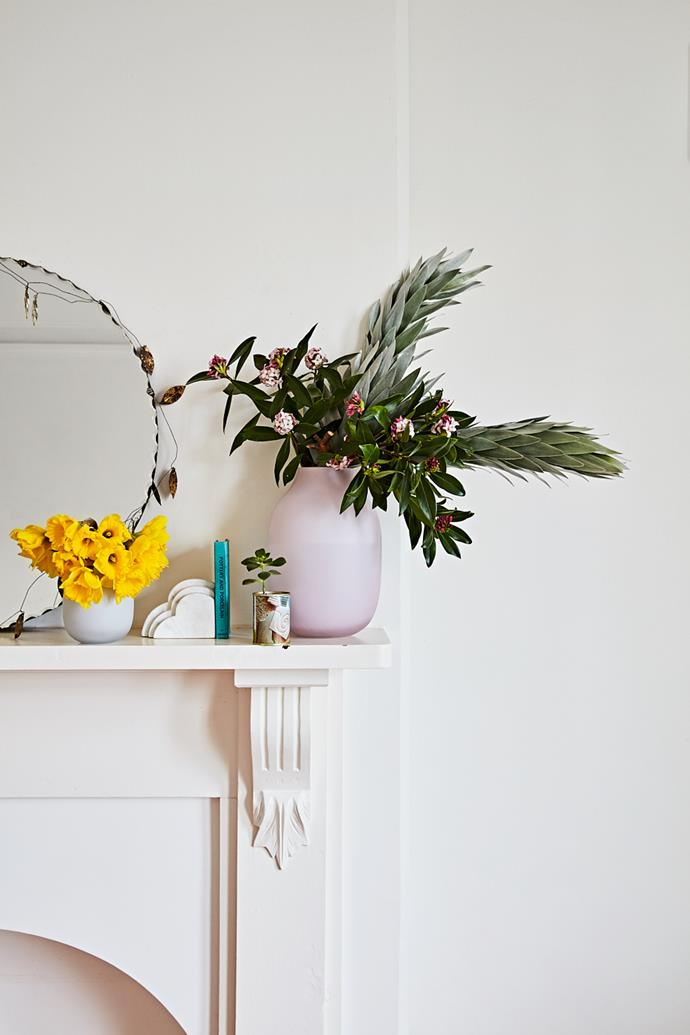 """""""The pieces I had in our bedroom previously were all things I had collected over time, and I love how the [west elm](http://www.westelm.com.au/