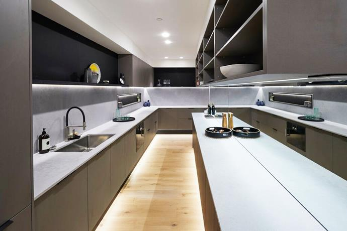 """**Double-entry butler's pantry – Kerrie and Spence**: According to Neale, this seamless [butler's pantry](https://www.homestolove.com.au/butlers-pantry-design-ideas-17450