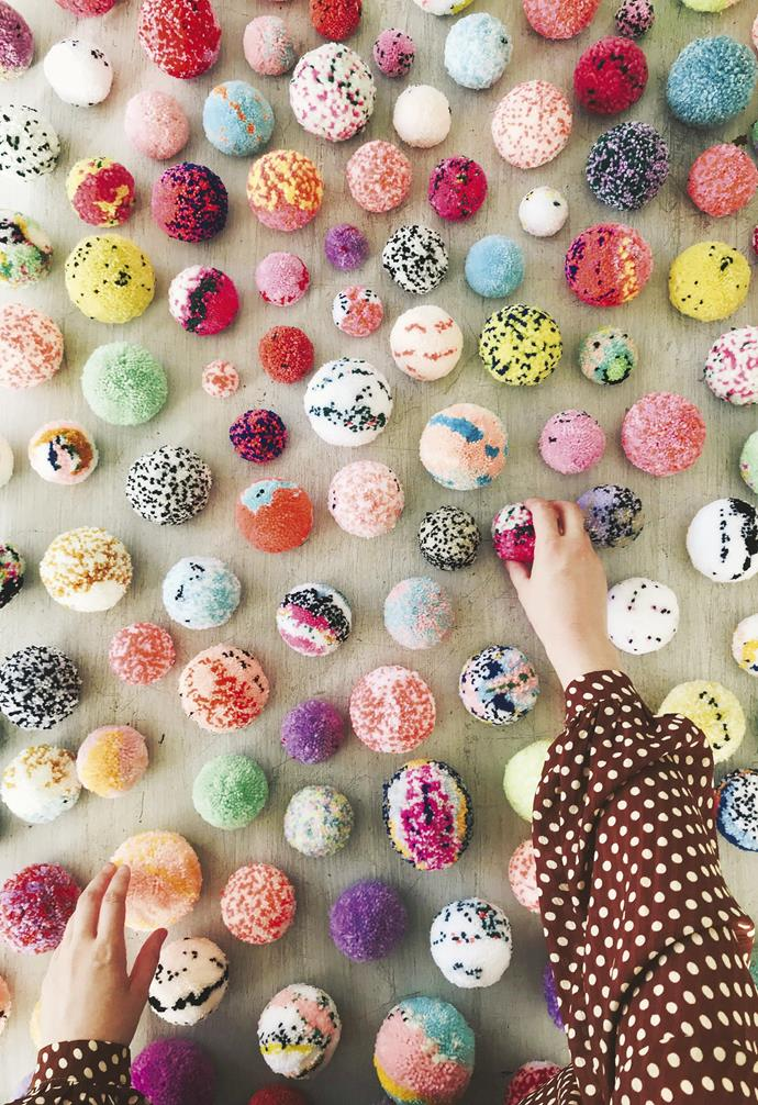 """**Pom-pom party** Rachel kick-started the '[Apomogy](https://www.instagram.com/apomogy/?hl=en