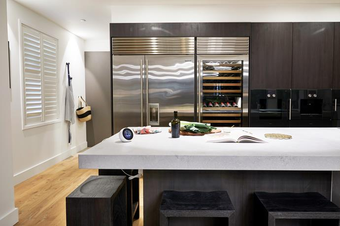 Kerrie and Spence's winning kitchen.