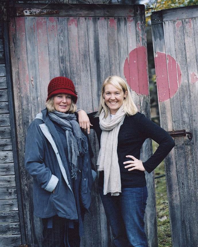 Sophie Hansen with her mum, Annie Herron.