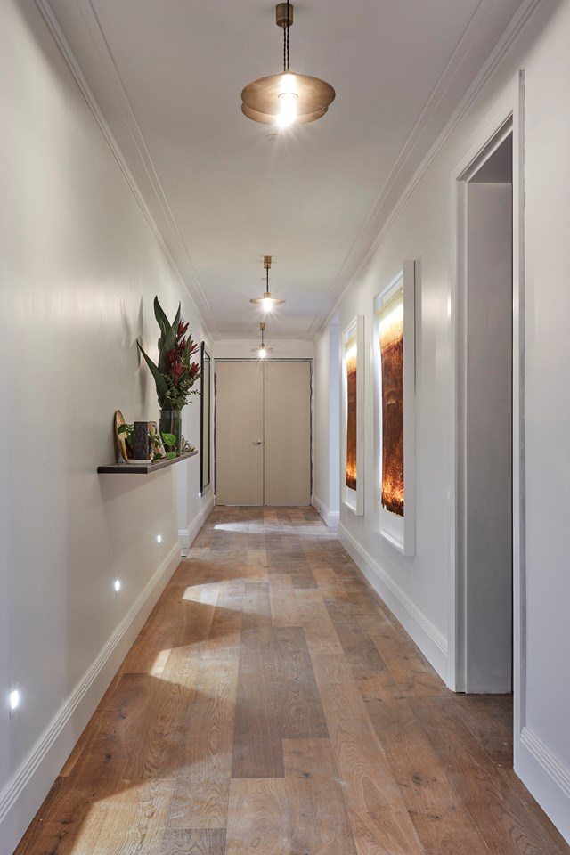 """[Hallway, laundry and powder room week](https://www.homestolove.com.au/the-block-2018-hallway-laundry-powder-rooms-19047