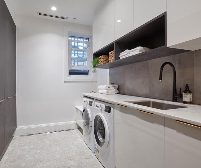 **Hayden and Sara** The judges were a fan of the cabinetry, tiling choices and ample storage available.
