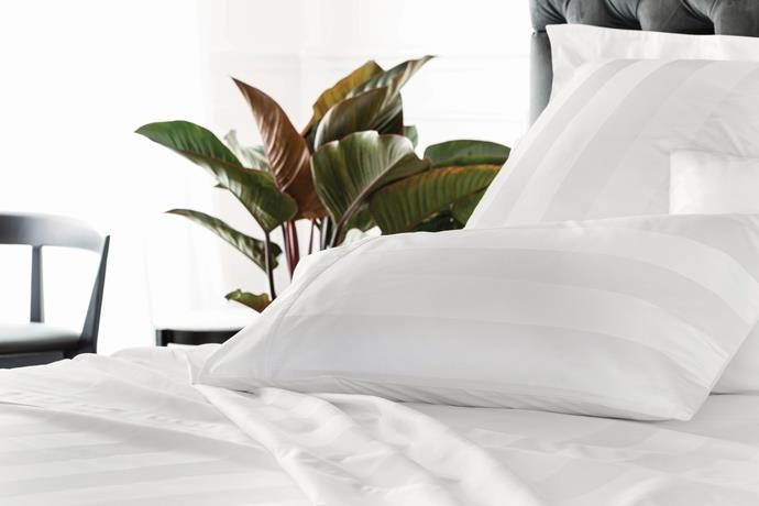 Get that hotel sheets feeling with 1200tc Masterson Flat Sheet, from $289.95, [Sheridan](https://fave.co/2xNHGB2).