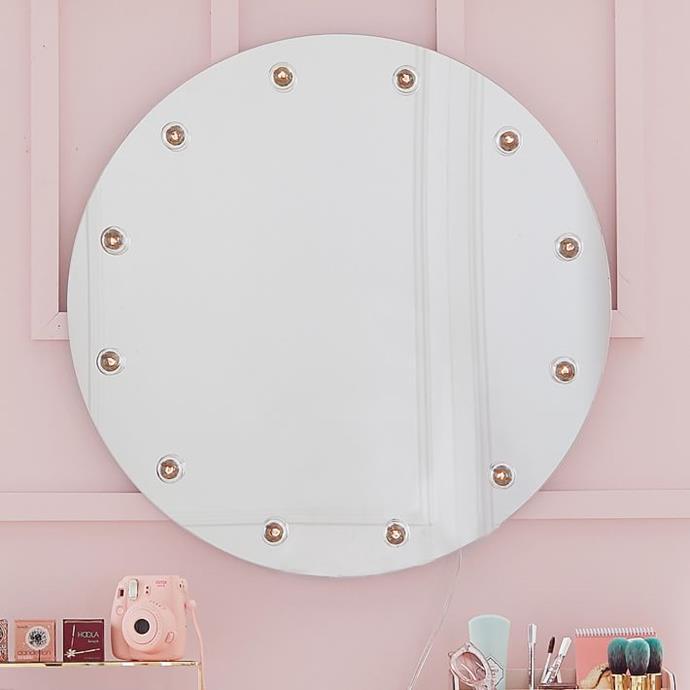 Benefit Gorgeous Round Marquee Mirror, $342.03