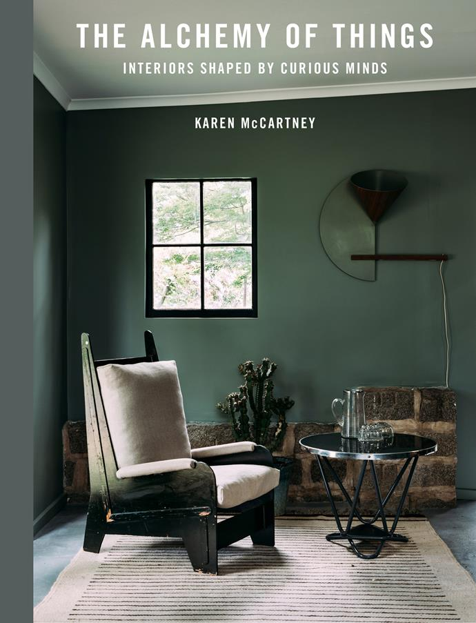 "**The Alchemy of Things: Interiors shaped by curious minds** by Karen McCartney, $43.47 at [Murdoch Books](https://www.murdochbooks.com.au/browse/books/lifestyle/The-Alchemy-of-Things-Karen-McCartney-9781760522759|target=""_blank""