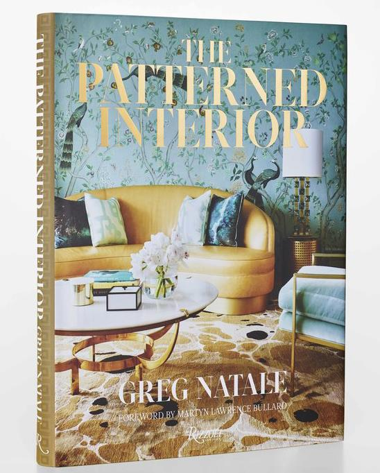 "**The Patterned Interior** by Greg Natale, $90, available at [Booktopia](https://fave.co/2zy3K4F|target=""_blank""