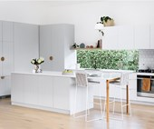 Scandi-style kitchen renovation on a budget