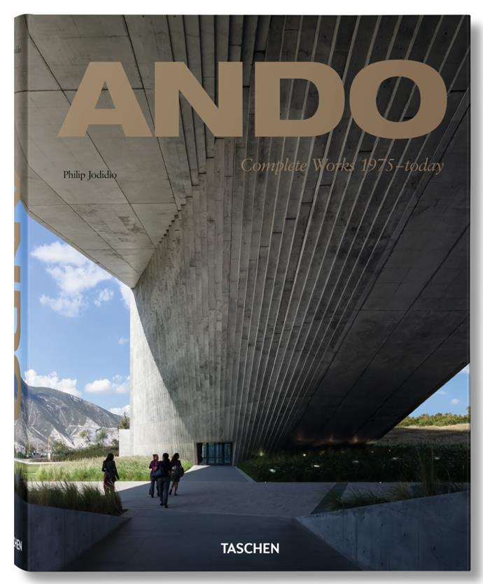 "**Ando: Complete works 1975-today** by Philip Jodidio, from [Taschen](https://fave.co/2QZ8Uxh|target=""_blank""