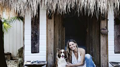 An eastern-inspired cottage in Bangalow, NSW