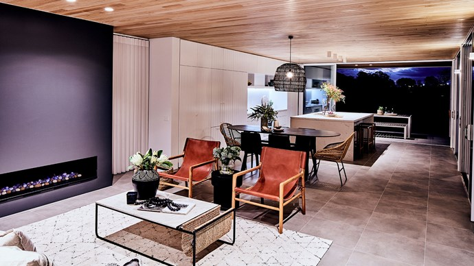 "Integrated kitchens work wonders in open-planned living spaces, as seen here within Mirvac's [My Ideal House](https://www.homestolove.com.au/my-ideal-house-tour-7089|target=""_blank""