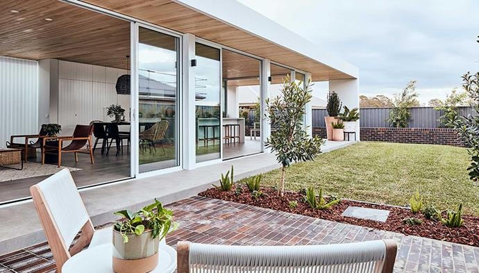 "Mirvac's [My Ideal House](https://www.homestolove.com.au/my-ideal-house|target=""_blank"") features an alfresco area that acts as an extension to the home's living areas, and allows for both dining and relaxing. *Image: Supplied*"