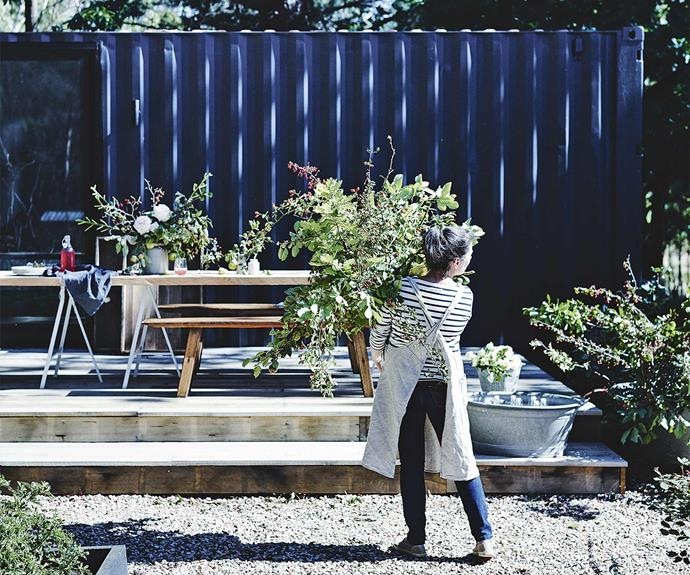 """I was ruminating on what I was doing with my life. When I thought of the things that I like, it was always things with my hands: gardening. I wanted a place to [grow and harvest](https://www.homestolove.com.au/central-victoria-farm-garden-18818