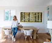 Deborah Hutton's Hamptons-inspired home renovation