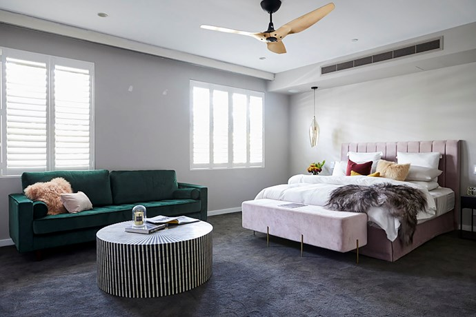 "**Master bedroom** - Hans and Courtney certainly felt the pressure during master bedroom week. With such a huge space to complete, the pair began to doubt themselves when it came to the styling. Neale called their [master bedroom](https://www.homestolove.com.au/before-and-after-master-bedroom-makeover-4085|target=""_blank"") ""an exercise in wasted space."" While the room was eventually re-styled, it still wasn't enough to change Shaynna's mind."