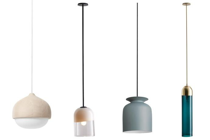 "*Left to right*: **Back to nature** Inspired by acorns, this gives an organic feel. Mater 'Terho' pendant light, $664/small, [Cult](https://cultdesign.com.au/|target=""_blank""