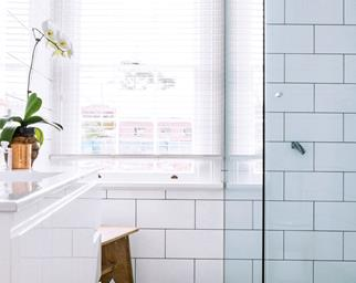 How to clean bathroom grout