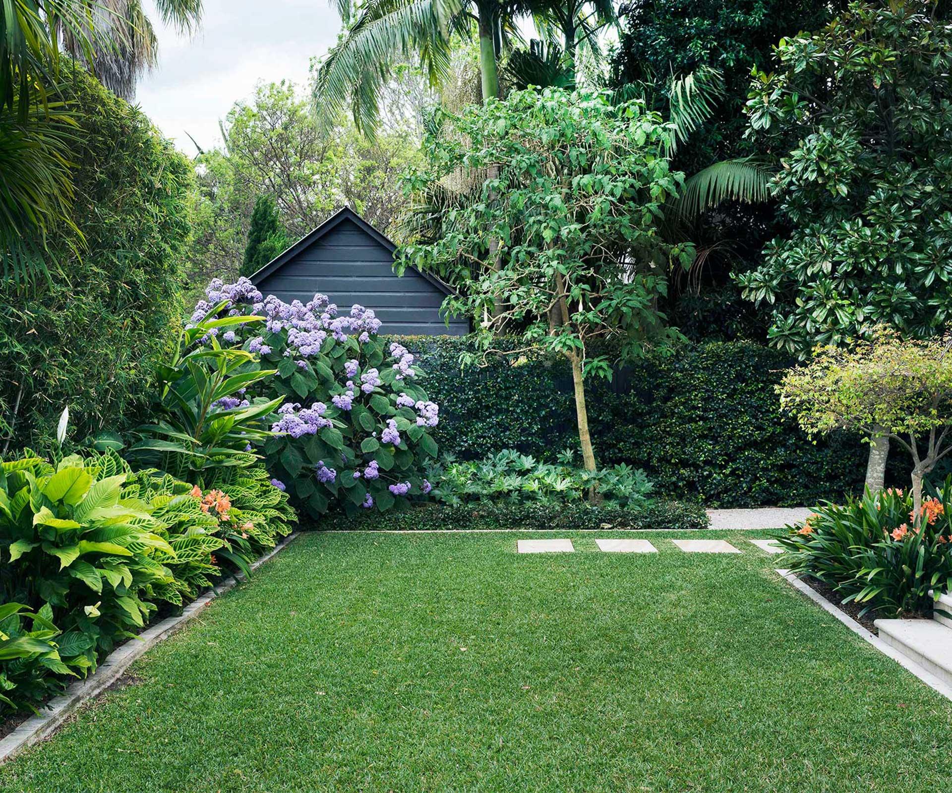 A Backyard Garden Designed For Outdoor Living   Australian House And Garden