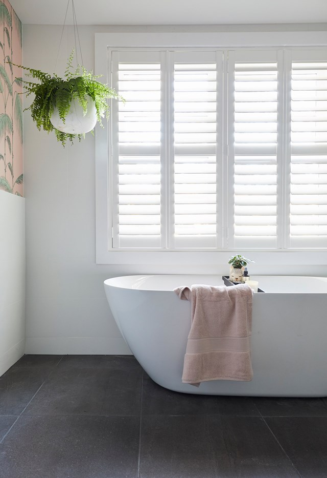 While their lighting plan was poorly executed, the finishes, fixtures and layout were all spot on and positioning the bath under the window got the judges tick of approval.