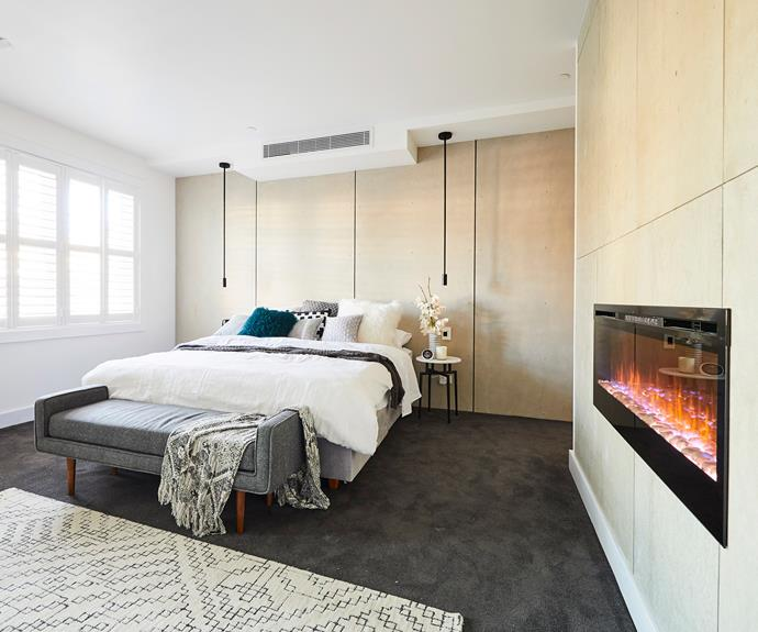 **Jess and Norm** Tackling the largest space with the smallest budget was no easy task for the Queensland couple.
