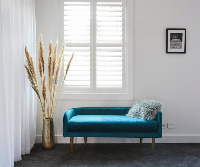 **Norm and Jess** The couple struggled with managing the scale of furniture in such a large space.