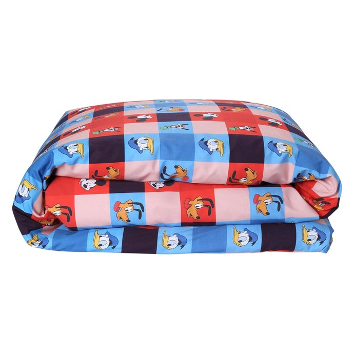 Disney X Kip&Co Check Mate Mickey Quilt Cover, from $149 (single)