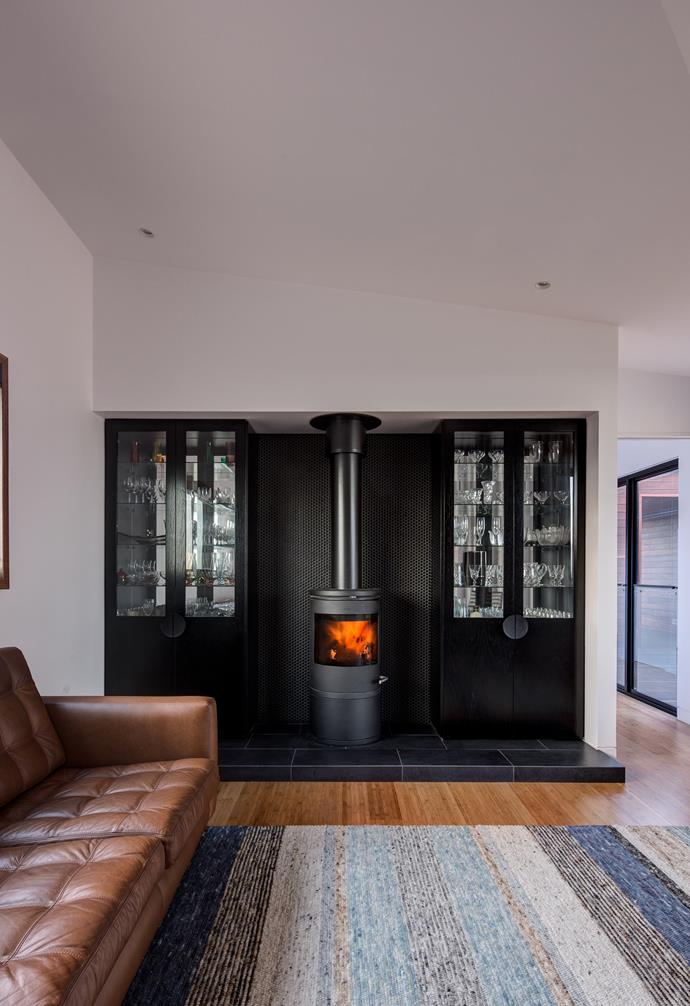 **Keep it warm** Fireplaces help keep the home warm during the colder months. *Photography: Jaime Diaz-Berrio*.