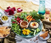 real living November 2018: grazing table recipes