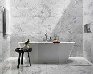 Marble tiles bathroom
