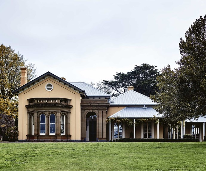 "If you think this [Victorian homestead looks fit for royalty](https://www.homestolove.com.au/fit-for-royalty-historic-homestead-in-central-victoria-13896|target=""_blank""), you'd be right — the Duke of Edinburgh once walked its hallways. This particular wing was specifically built for the Duke's stay, with a bay window on the formal dining room and French doors opening from the drawing room. 