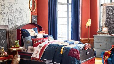 Pottery Barn Kids has created a magical Harry Potter homewares collection