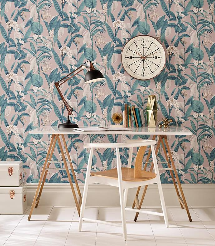 "Botanical Dusk Wallpaper, $130 a roll, from [Graham & Brown](https://fave.co/2Ow6dWq|target=""_blank"")"