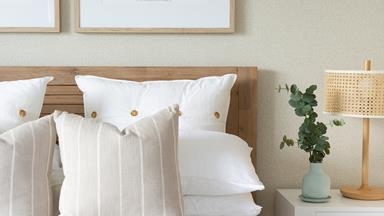 Dark Gold Coast apartment gets bright coastal makeover