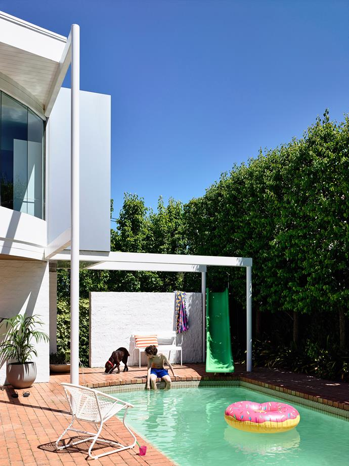 It's always a good idea to ask around for a trustworthy pool builder, says Spiros. *Photo: Derek Swalwell / bauersyndication.com.au*