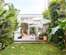 Decked out: a multipurpose garden transformed this small space