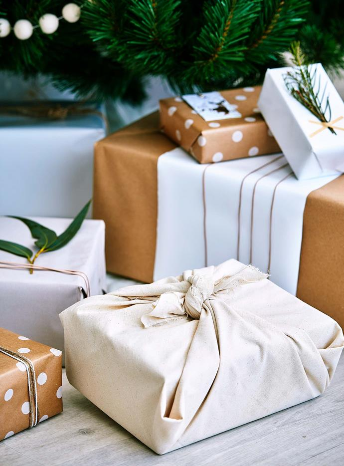 Choosing alternative wrapping options can be both eco-friendly and thoughtful. | *Photography: Scott Hawkins/bauersyndication.com.au*