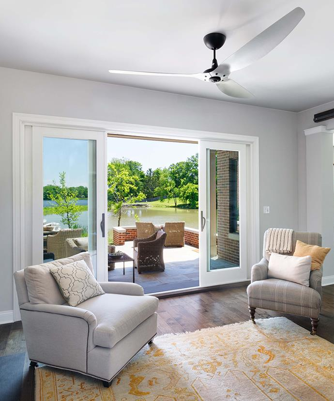 Ceiling fans are a cost-effective way to cool your home. The latest models can often be run for less than 1 cent an hour