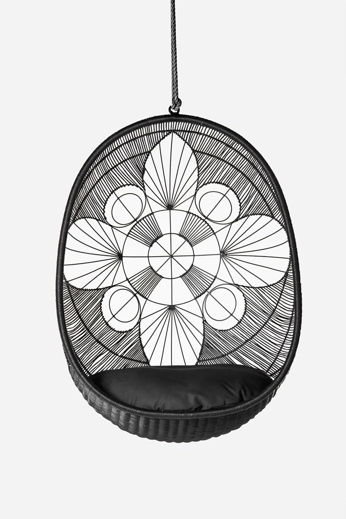 "Ankara Pod Chair, $869, [Zohi Interiors](https://zohiinteriors.com.au/|target=""_blank""|rel=""nofollow"")"