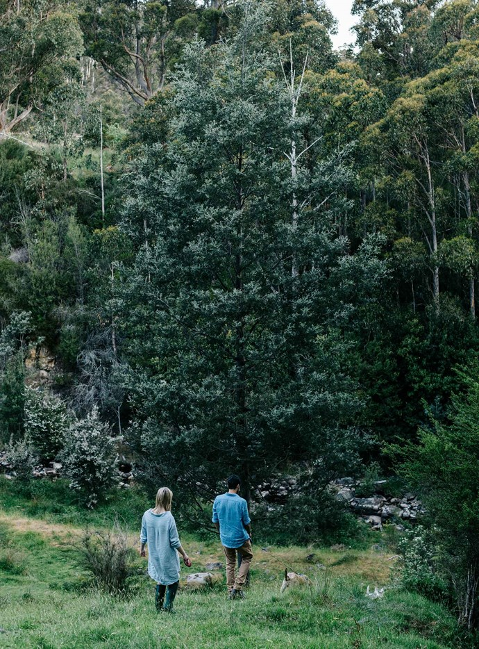 """We don't like cities, we like space and being around family and community, and really, we had never thought about living anywhere else,"" says Laura. 