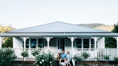 Cosy farmhouse full of animals in Tasmania's Huon Valley