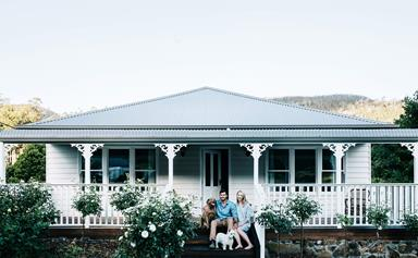 A cosy river cottage in Tasmania's Huon Valley