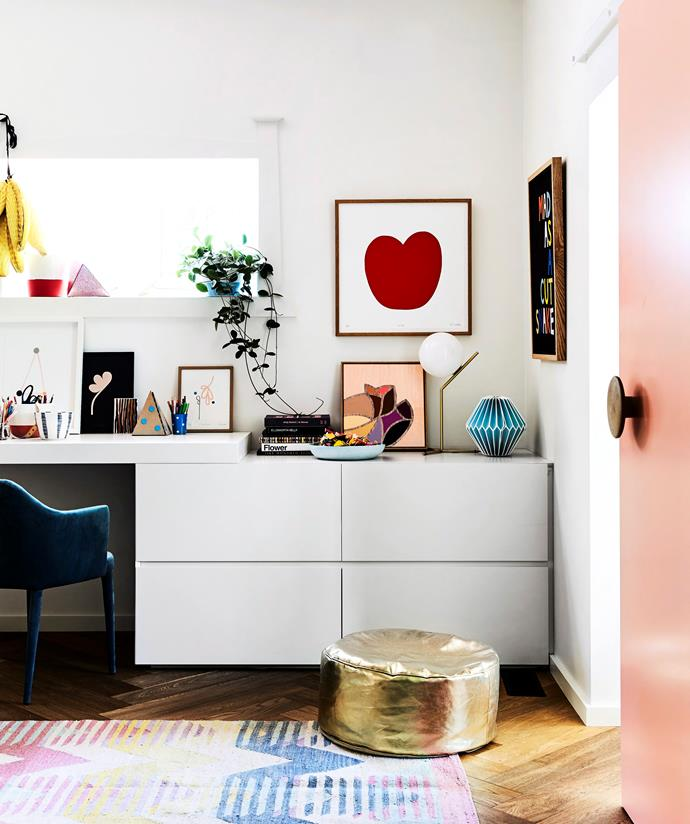While a minimalist, clutter-free desk works for some people, others thrive with a little creative clutter. *Photo: Sharyn Cairns / bauersyndication.com.au*