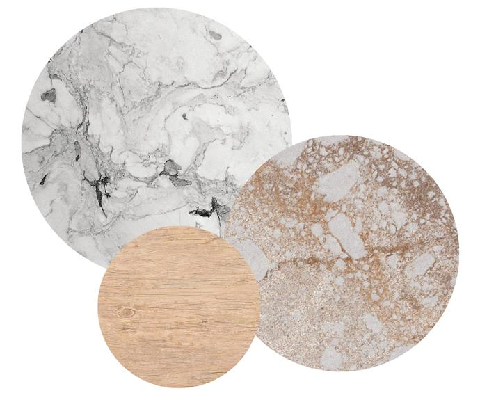 "**Highlights** (left to right) 'Superlative' marble, from $605/sqm, [CDK Stone](https://www.cdkstone.com.au/|target=""_blank""