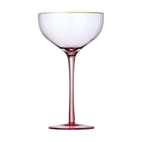 While they're not technically Christmas decorations, these coupe Champagne glasses are the only thing we'll be drinking out of over the festive season! <br><br> 6 Coupe Champagne Glasses Pink, $15