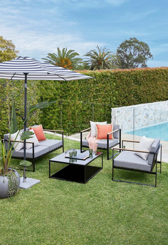 """**Outdoor grade** [Outdoor furniture](https://www.templeandwebster.com.au/Outdoor-Furniture-C1809627.html