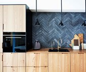 How to create a modern timber kitchen in a small space